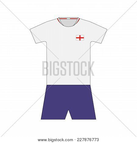 Football Kit. England 2018. National Team Equipment. T-shirt