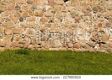 Natural Background Of Old Stone For Decorations And Creative Projects