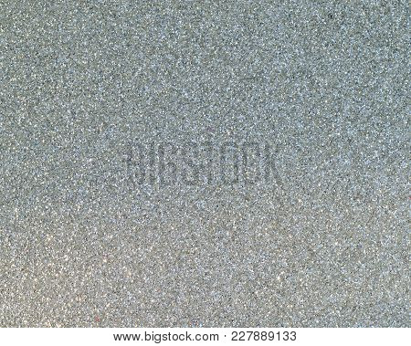Silver Colored Sparkly Background