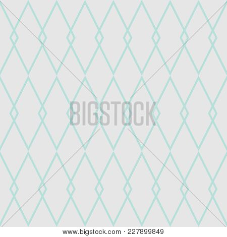 Tile Vector Pattern With Blue And Grey Background Wallpaper