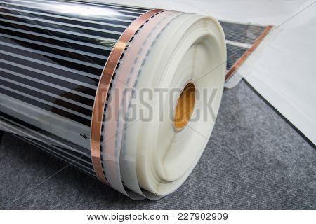 Infrared Carbon Film Reel Fiber, Material For Modern Heat Floor.