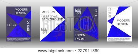 Minimum Vector Coverage. A Set Of Modern Abstract Covers. Rich Design Vip. Future Futuristic Templat