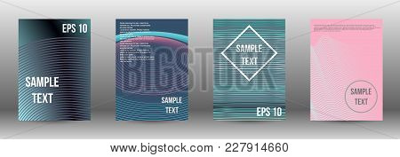 Minimum Coverage Of A Vector. A Set Of Modern Abstract Covers. Rich Design Of Vip. Future Futuristic