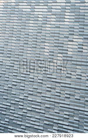 Aluminium Cladding Material Surface On Exterior Facade