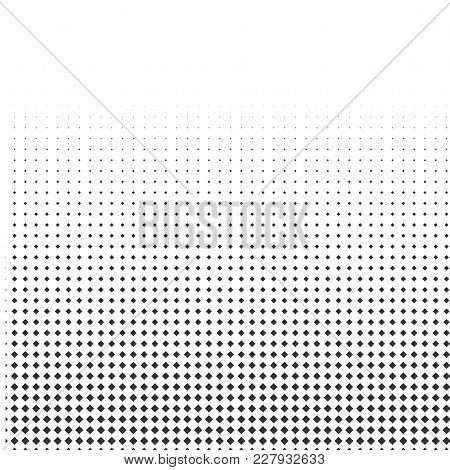 Abstract Halftone Texture With Rhombuses. Vector. Modern Background For Posters, Websites, Web Pages