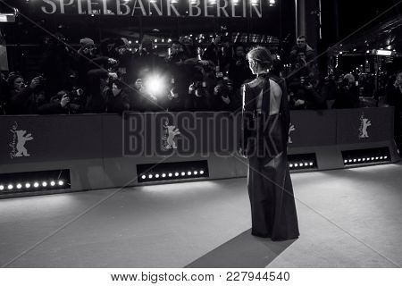 Alba Rohrwacher attends the 'Daughter of Mine' (Figlia Mia) premiere during the 68th Film Festival Berlin at Berlinale Palast on February 18, 2018 in Berlin, Germany.