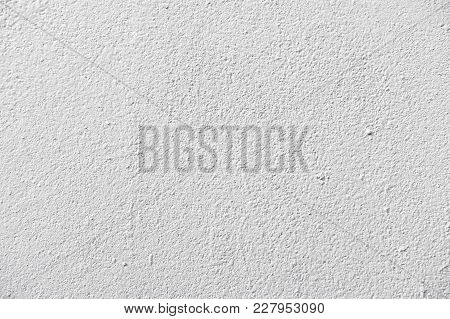 Detail Of Grey Concrete Wall Texture, Exterior Wall
