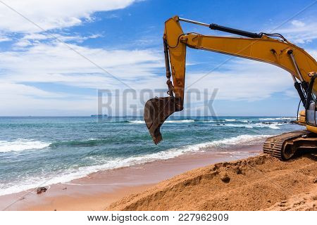 Construction Beach Ocean Erosion Repairs