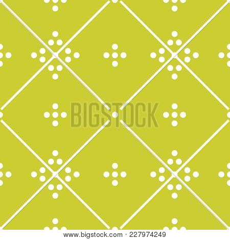 Tile Vector Green Decorative Floor Tiles Pattern