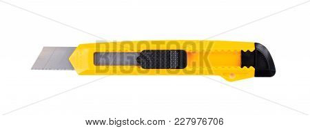 Paper Cutter Isolated On White Background, Top View