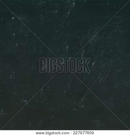 Black Chalkboard Background. Popular Stylish Monochrome Texture