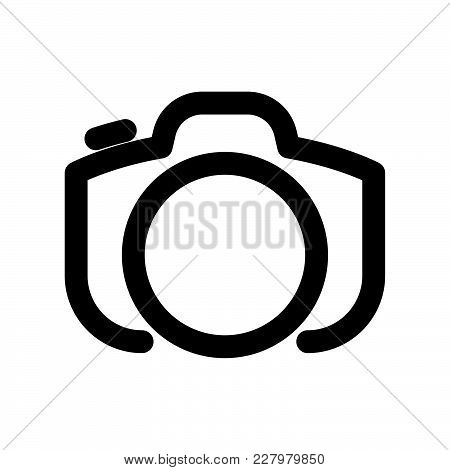 Photo Icon Isolated On White Background. Photo Icon Modern Symbol For Graphic And Web Design. Photo