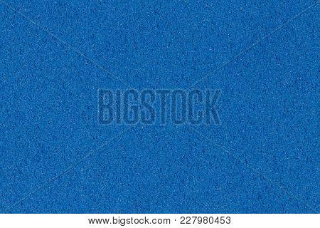 Simple Blue Ethylene Vinyl Acetate Eva Texture. High Resolution Photo. High Resolution Image.