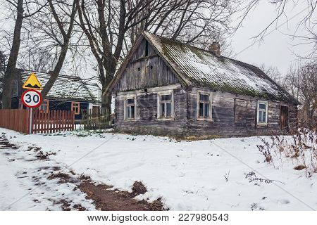 Swisloczany, Small Village In Podlasie Region Of Eastern Poland
