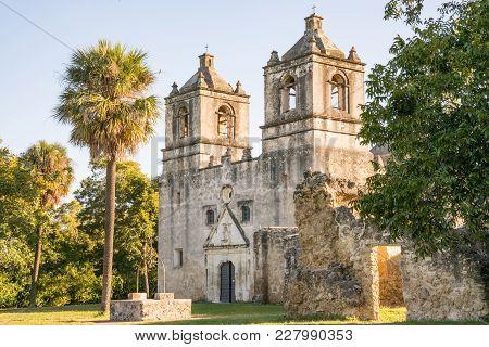 Mission Concepcion In San Antonio Missions National Historic Park, Texas