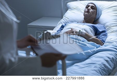 Dying Patient With Tumor