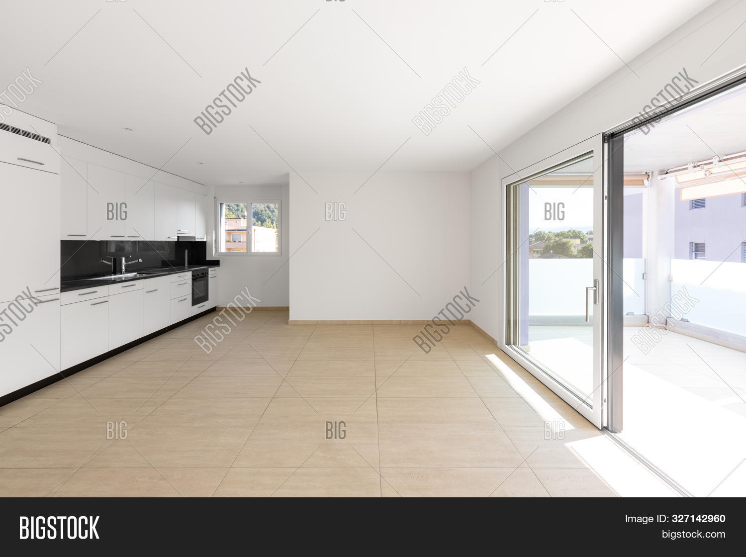 Empty Room White Walls Image Photo Free Trial Bigstock