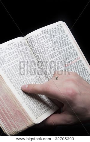 Bible With Red Letters