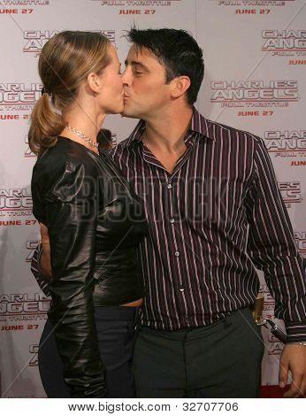 LOS ANGELES - JUN 18: Matt Leblanc, wife Melissa at the premiere of 'Charlie's Angels: Full Throttle' on June 18, 2003 in Los Angeles, California
