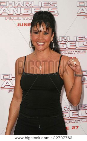 LOS ANGELES - JUN 18: Mia St John at the premiere of 'Charlie's Angels: Full Throttle' on June 18, 2003 in Los Angeles, California