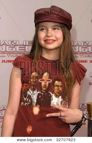 LOS ANGELES - JUN 18: Daveigh Chase at the premiere of 'Charlie's Angels: Full Throttle' on June 18, 2003 in Los Angeles, California