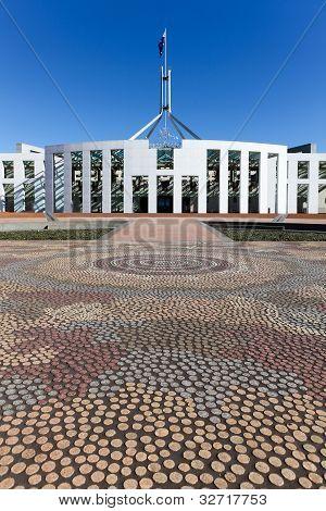Australia Parliament House Mosaic