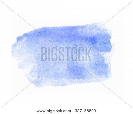 Purple Watercolour Stain White On White Background.drawn Watercolour Style.