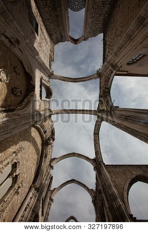 Carmo Convent In Lisbon, The Church With No Roof