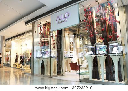 Bratislava, Slovakia - September 02, 2019: Alo Diamonds Shop In Retail, Business And Residential Com
