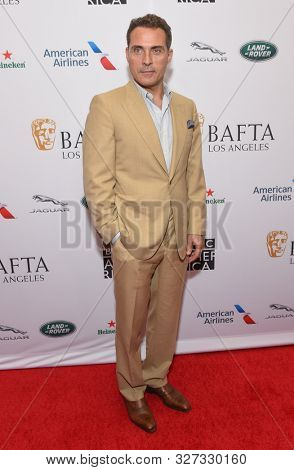 LOS ANGELES - SEP 21:  Rufus Sewell arrives to the BAFTA Los Angeles and BBC America TV Tea Party  on September 21, 2019 in Hollywood, CA