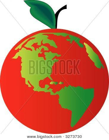 Earth Apple Red.