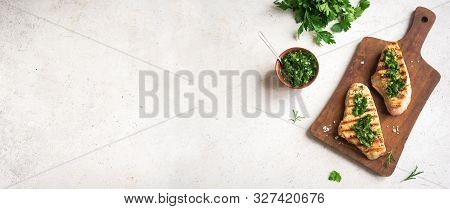 Chicken Breast With Chimichurri Sauce