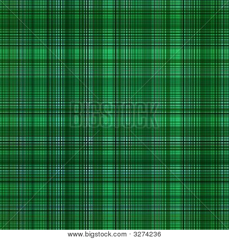 A green color abstract grid pattern background. poster