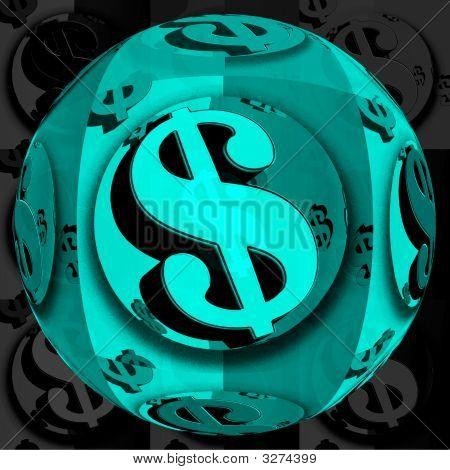 Globe Dollar Blue