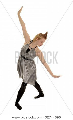 Long Lines Of A Female Jazz Dancer