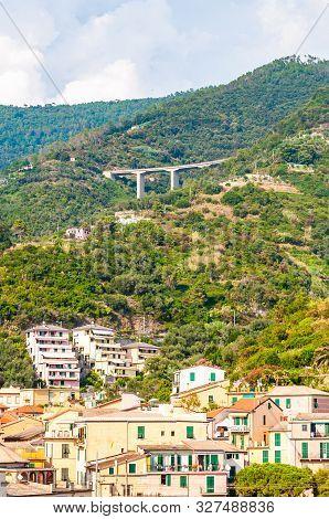 Monterosso Al Mare, Italy - September 02, 2019: The Famous Landscape And Cityscape Of Monterosso Al