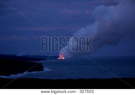 When Fire Meets Water