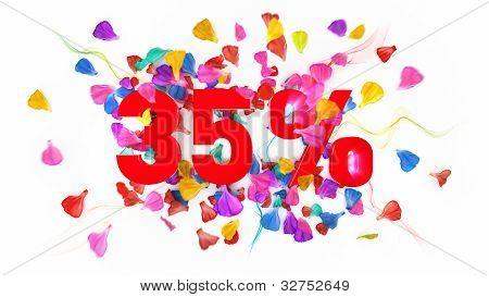 35 Percent Off