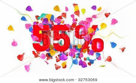 55 Percent Off