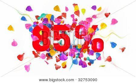 85 Percent Off