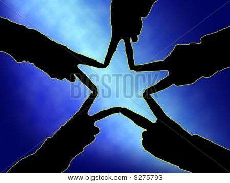 Star Hands Silo