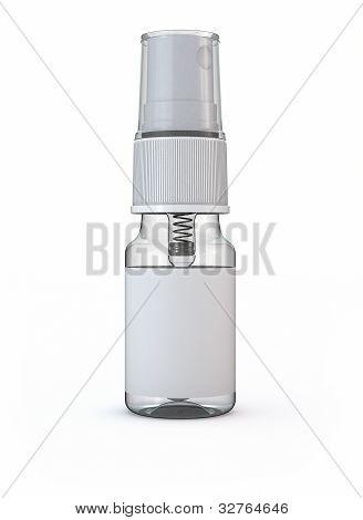 Spray Isolated On White