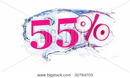 55 percent Summer Sale Or Discount Tags