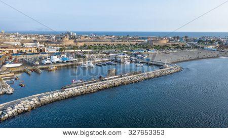 Callao, Peru - October 13 2019: Bow View Of The Bap Abtao (ss-42) Submarine Of The Peruvian Navy Moo