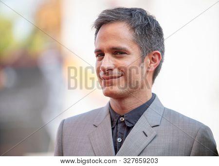 Gael García Bernal walks the red carpet ahead of the
