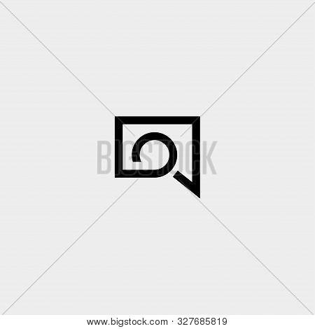 Letter O Chat Logo Template Vector Design
