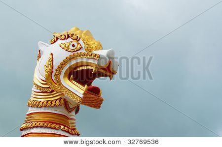 Architecture Of Burmese Lion