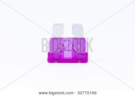A Purple Car Fuse