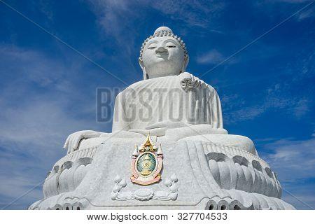 The Big Buddha Temple (phraphutthamingmongkhol-akenagakhiri), Phuket, Thailand.