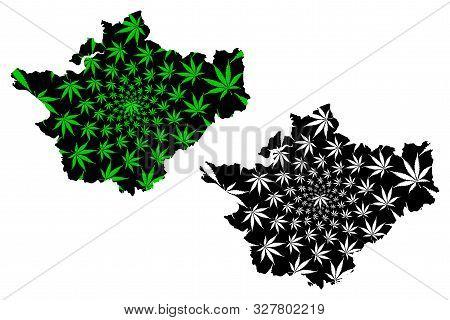 Cheshire (united Kingdom, England, Non-metropolitan County, Shire County) Map Is Designed Cannabis L